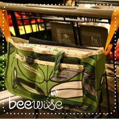 Download Reusable Bag Caddie Sewing Pattern | Toys & Activities Sewing Patterns for Download | YouCanMakeThis.com