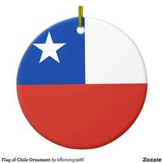 Flag of Chile Ornament