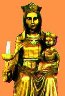 Puntadas marianas: Nuestra Señora de la forma cónica