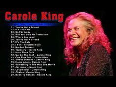 Carole King Best Hits || Best Of Carole King - Carole King greatest hist 2021 - YouTube Something In The Way, Carole King, One Fine Day, She Movie, Folk Music, Greatest Hits, I Fall, Hard Rock, Music Videos