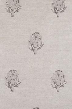 Emily Bond Grey Artichoke Linen Union