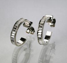 Cable tie earrings