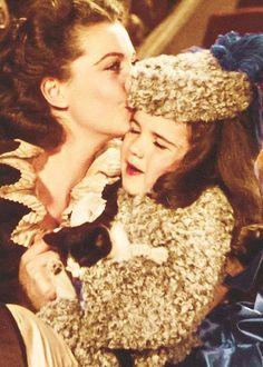 "Scarlett ""Bonnie oh Bonnie. Bonnie baby"" Momma and daughter together again."