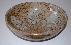 Dorthe Møller, bowl in stoneware from own studio Denmark. W: 23. H: 8 cm.