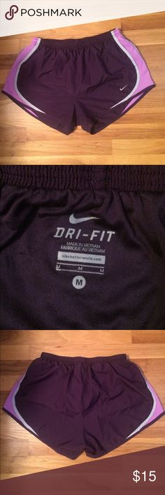 Nike Athletic Shorts Has an inner liner...like briefs on the inside. I just noticed there is a black marker dot on the left side of the shorts, that's why I priced them lower than other shorts that I'm selling. You can barely tell the dot, but still wanted to point it out to you. Nike Shorts