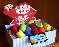Crackers Art Arcade Birthday Party