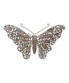Another great find on #zulily! Butterfly Wall Décor by Designs Combined Inc. #zulilyfinds