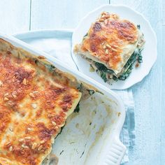 Lasagne met champignon saus Veggie Dishes, Veggie Recipes, Pasta Recipes, Dinner Recipes, Food Porn, Good Food, Yummy Food, Weight Watchers Meals, Different Recipes