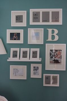 I love this to display family photos!!