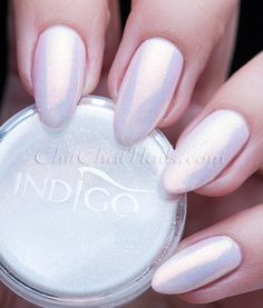 Rosy Nude with the Mermaid Effect   ChitChat Nails