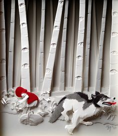 How incredible are these paper relief sculptures from artist Cheong-ah Hwang?