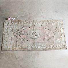 note: love the vintage rug