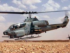 Marine Corps AH-1 Cobra Gunship