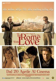 """""""Para Roma, com Amor"""", novo filme do Woody Allen. Um passatempo muito agradável. Engraçado e com roteiro bem original. Gostei mais do """"Meia noite em Paris""""."""