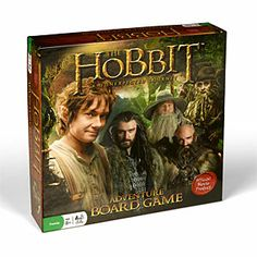 The Hobbit: Adventure Board Game // I HAVE A MIGHTY NEED. (Though it looks a bit complicated...)