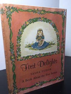 First Delights, Tasha Tudor, First Edition, 1966