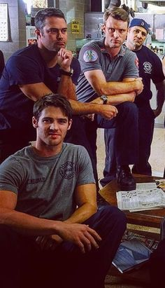 Hot men of Chicago Fire!