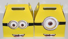 12  Despicable Me Minion Birthday Party Favor by akidswonderland, $20.00