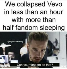 Slay>>>>>our fandom sleeps????because i don't...if i do..i'm dreaming about one direction