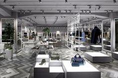 Nendo diseña un local comercial de lujo para Compulux en el barrio Shibuya, Tokio
