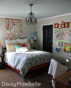 diy projects for teen girls   ... bedroom has a ton of fun DIY tutorials hidden within! Check it out