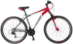 Hybrid Bikes - Schwinn Mens GTX2 700C Dual Sport Bicycle RedSilver 18Inch ** Be sure to check out this awesome product.