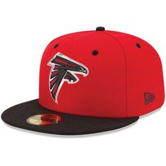 Atlanta Falcons Youth Pipe Structured Flex Hat - Red   Atlanta ...