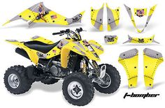 AMR RACING QUAD DECALS ACCESSORIES ATV GRAPHICS KIT LTZ 400 LTZ400 SUZUKI PARTS