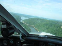 Approaching Percy Priest Lake (© 2012 Susan Ashley Michael)