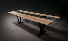 Sentient Colorado Live Edge Dining Table | 2Modern Furniture & Lighting