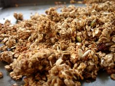 Carrot Cake Granola {Naturally Sweetened and Oil Free}
