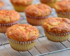 Cheese Cupcakes are moist and fluffy with crisp cheese topping
