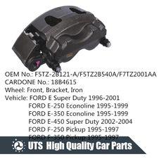Brand New Aftermarket FORD E 4 Piston Front Brake Caliper CARDONE 18B4615 Anodized Black