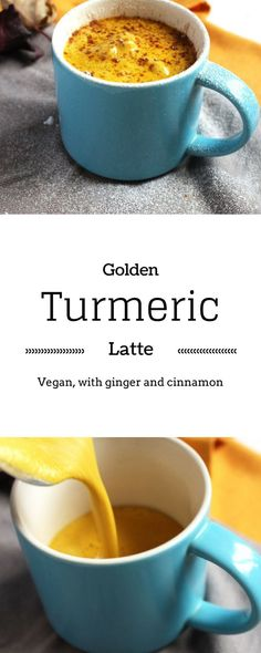 Golden Latte : a turmeric milk recipe | Today on the blog I'm sharing how to make turmeric milk, and WHY to make it !