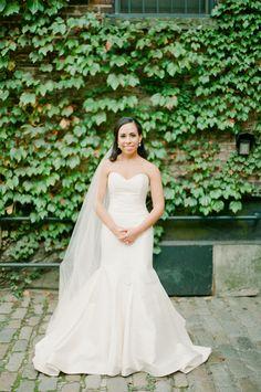 Black Tie Glam Wedding Inspiration. Dress: Carol Hannah Tourmaline | Photography: Brklyn View Photography | Floral Design: Ivie Joy Flowers | Venue: The Foundry