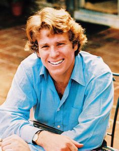 Ryan O'Neal  -  (1941best known for his roles in Paper Moon with his daughter Tatum,and  Love Story. I named my son after him.
