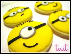 #cookies #Minnions Cookies, Desserts, Food, Crack Crackers, Tailgate Desserts, Deserts, Biscuits, Essen, Postres