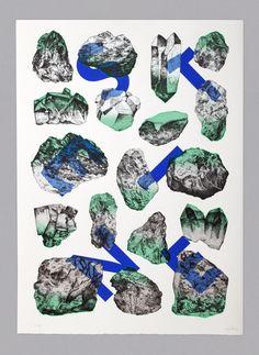 SILBER STEINE PRINT by Yvo Hählen & A3 Studio & Priscilla Balmer