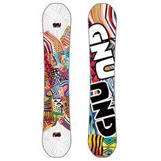 GNU Hard Candy Asym BTX Snowboard - Women's + Union Juliet Snowboard Bindings - Women's 2017 | evo