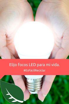 Tu casa se verá increíble y cuidarás el planeta eligiendo focos LED. (: