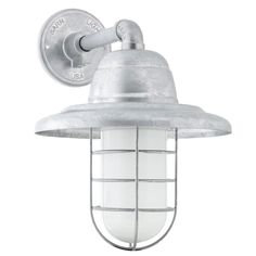 Atomic LED Wire Guard Sconce | Barn Light Electric  $289 in rust