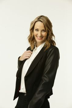 HOT TREND: A touch of leather! INC International Concepts Jacket, Faux-Leather Sleeve Blazer
