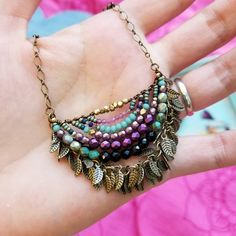 Now avaiIable 💌 I've got 2 of these beaded Naguines with fringe~ swipe to see it on! There are several fresh pieces actually and I tried to… Metal Jewelry, Boho Jewelry, Pendant Jewelry, Jewelry Crafts, Beaded Jewelry, Jewelery, Jewelry Accessories, Beaded Necklace, Jewelry Design