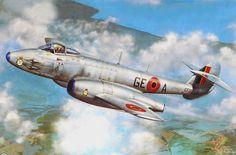 Gloster Meteor Mk 4 Belgian Air Force (Stan Hajek)
