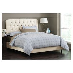 Stella Bed in Parchment