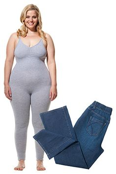 How to find the best jeans fit for your body type. She also has a ...