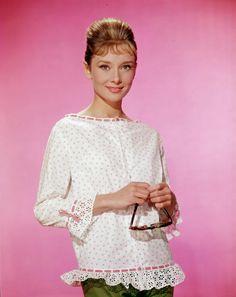 bohemea:    Audrey Hepburn    That top, Audrey. I want it.