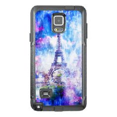 Rainbow Universe Paris OtterBox Samsung Note 4 Case
