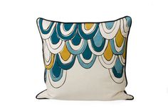 I'm hoping the blues in these relate well to our blue armchairs!
