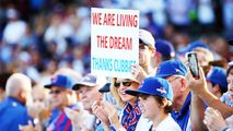 Cubs Could Make History Again Tuesday - http://www.nbcchicago.com/news/local/Cubs-Could-Make-History-With-Tuesday-Win-Over-Cardinals-332286982.html